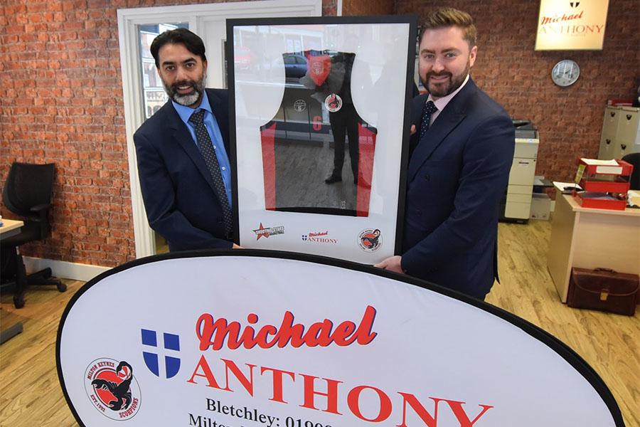 Michael Anthony Estate Agents | MK Scorpions